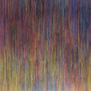 Untitled, 2015. Acrílico sobre tela. 70 x 70 cm
