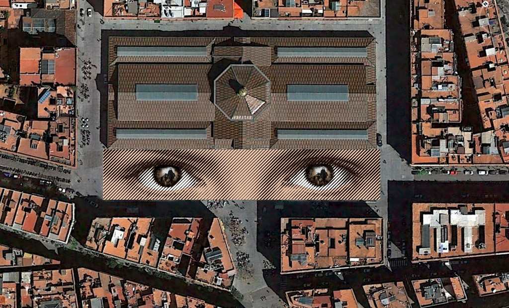 Proyección infográfica de la vista aérea de la obra