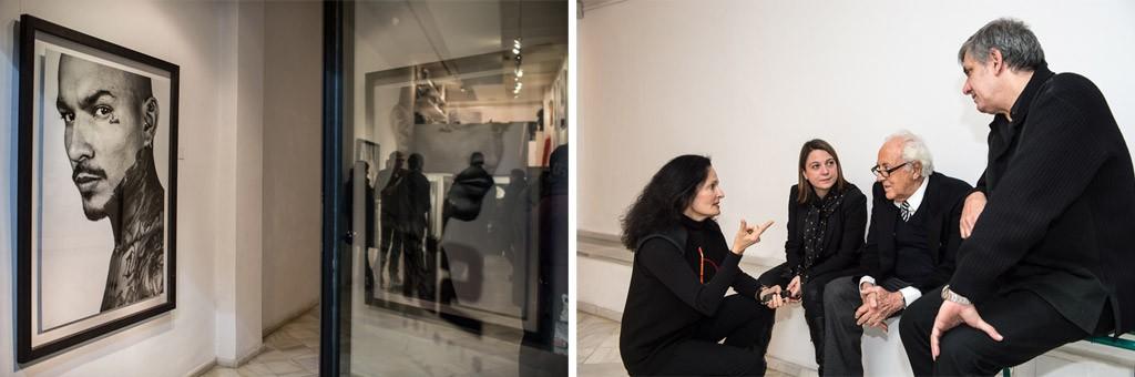 Exposición de Isabel Muñoz en N2 (2013) | Isabel Muñoz conversa con Inma Turbau, Ignacio de Lassaletta y José Antonio Carulla.